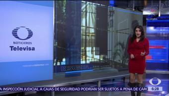 Las noticias, con Danielle Dithurbide: Programa del 23 de noviembre del 2017