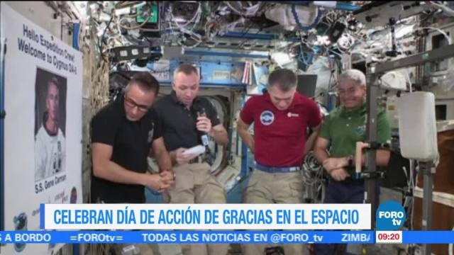 Astronautas celebrarán con pavo deshidratado el Día de Acción de Gracias