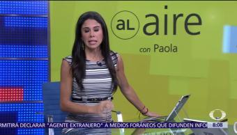 Al aire, con Paola Rojas: Programa del 23 de noviembre del 2017