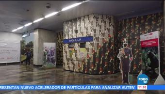 Extra Extra: Exposición de las Fuerzas Armadas en el Metro de la CDMX