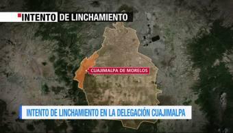 Reportan intento de linchamiento en Cuajimalpa, CDMX