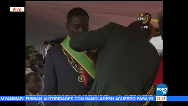 Zimbabue tiene nuevo presidente, Emmerson Mnangagwa