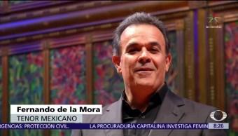 Fernando de la Mora ofrece concierto benéfico en Bellas Artes
