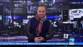 Matutino Express del 24 de noviembre con Esteban Arce (Bloque 1)