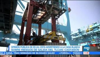 Sector empresarial aprueba que el TLCAN se modernice cada 5 años