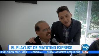 Playlist Matutino Express con Héctor Alonso