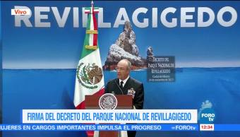 Vidal Soberón reconoce compromiso federal con protección de los recursos naturales
