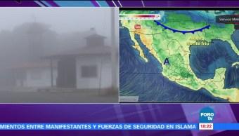 Comunidades serranas de Guanajuato reportan temperaturas congelantes