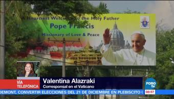 Viaje del papa Francisco a Myanmar