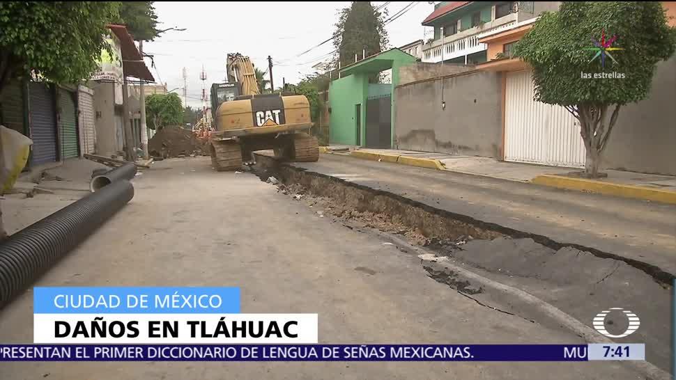 Se necesitan mil mdp para reconstrucción en Tláhuac tras sismo, dice Mancera