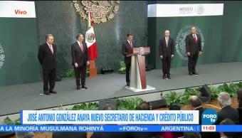 EPN anuncia cambios en el gabinete