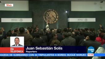 EPN saluda a invitados especiales tras anuncio en cambios de gabinete