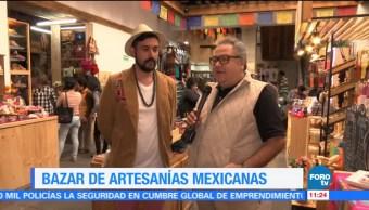 Bazar de artesanías mexicanas