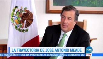 La trayectoria de José Antonio Meade