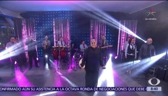 Lupita D'Alessio presenta su nuevo material en Al Aire