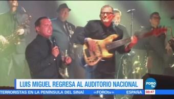 #LoEspectaculardeME: Luis Miguel regresa al Auditorio Nacional