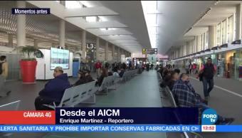 Representante sindical informa fin del paro de pilotos en AICM