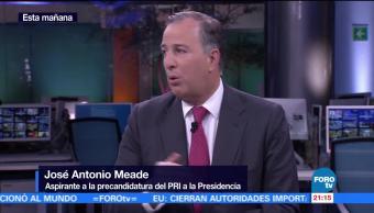 La corrupción no es un tema de voluntad: Meade