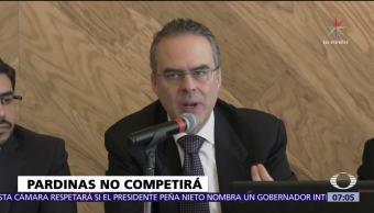 Juan Pardinas aclara que no tiene intención de competir por un cargo público