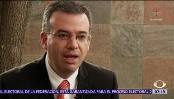 Designan a Alejandro Díaz de León como gobernador del Banxico