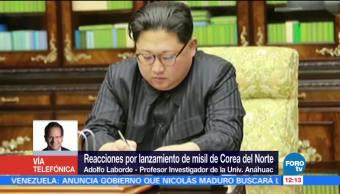 Qué se espera tras lanzamiento de misil de Corea del Norte