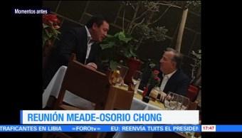 Comen José Antonio Meade y Osorio Chong