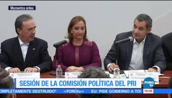 PRI avala que Meade participe en proceso interno por precandidatura presidencial