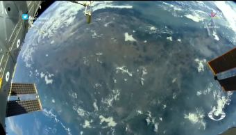 La vista de un astronauta desde la EEI