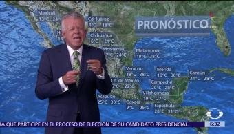 Despierta con Tiempo: Persiste ambiente muy frío en gran parte de México