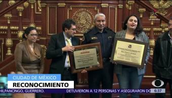 Diputados de Morena en ALDF reconocen trayectoria de Raúl Esquivel, 'Jefe Vulcano'