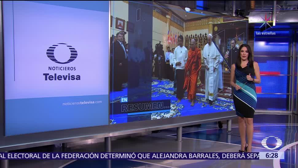 Las noticias, con Danielle Dithurbide: Programa del 30 de noviembre del 2017