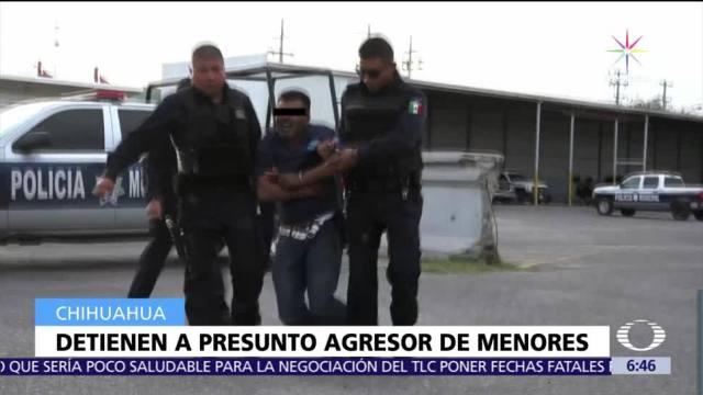 Detienen en Chihuahua al presunto violador y asesino de una niña