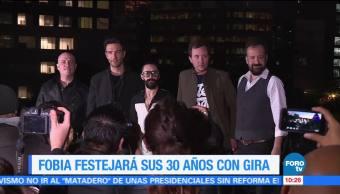#LoEspectaculardeME: Fobia festejará sus 30 años con gira