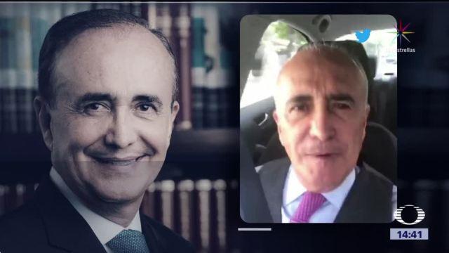 Pedro Ferriz pedirá desbloqueo de aplicación para firmas