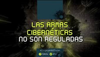 #DespejandoDudas: Armas cibernéticas no están reguladas