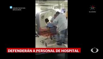Médicos de Villahermosa protestarán por camillero despedido