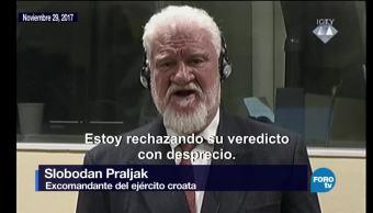 ¿De qué se le acusó a Slobodan Praljak?