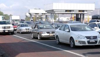 Aforo vehicular en autopistas de Hidalgo aumenta por fin de semana largo