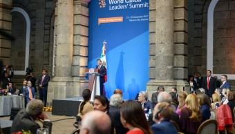 EPN inaugura la Cumbre Mundial de Líderes Contra el Cáncer
