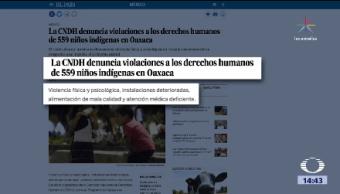 Abusos Contra Niños Indígenas Oaxaca