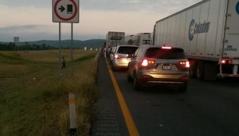 accidente en la autopista monterrey laredo