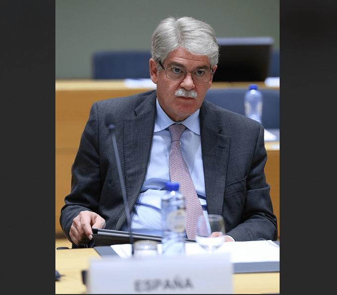 Alfonso Dastis, ministro español de Exteriores y Cooperacion