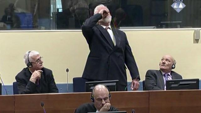 Holanda abre investigación sobre suicidio del criminal de guerra Praljak