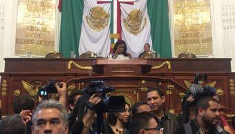 Legisladores morenistas revientan sesión en la ALCDMX