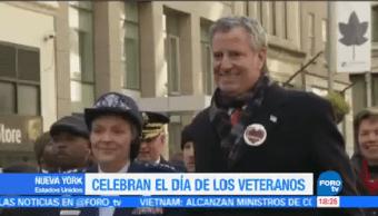 Astronauta Encabeza Desfile Día Veteranos NY