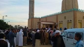 Aviones egipcios atacan terroristas involucrados atentado mezquita