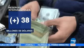 Aumentan Reservas Internacionales Banco De México Aumento