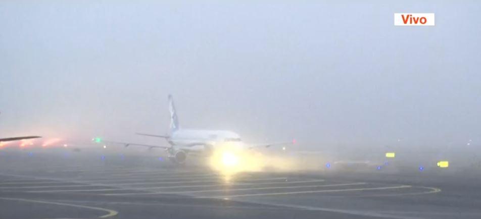 banco de niebla en aeropuerto cdmx