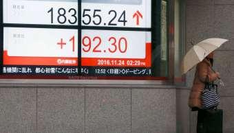 Bolsa de Tokio cierra al alza; sigue pasos de Wall Street