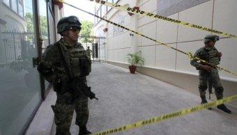 usuarios cajas seguridad cancun instalan campamento